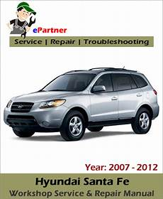 car maintenance manuals 2007 hyundai santa fe auto manual 2012 hyundai santa fe service manual factory workshop