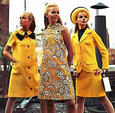60er jahre mode yellow styles in j c penney s catalog summer 1968