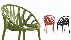 chaise empilable en plastique vegetal by vitra design