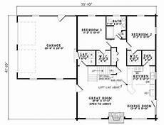 plan 110 00934 3 bedroom 2 bath log home plan