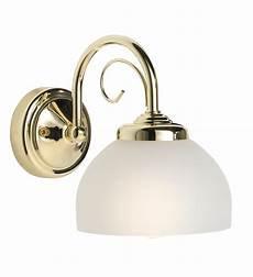 lights by b q grantchester brass effect 1 l golf ball single wall light departments diy