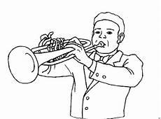 Malvorlagen Trompete Pin Malvorlagen Ausmalbilder Trompete Ausmalen Musik