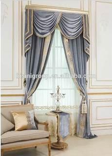 Royal Classique Anglais Style Victorien Bleu Floral Rideau