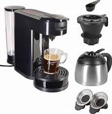 senseo kaffeepadmaschine senseo 174 switch hd6592 60 1l