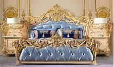 da letto stile barocco in stile italiano di lusso oro foglia mobili da