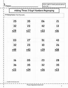 2nd grade math worksheet adding two digit numbers two digit addition worksheet satta addition worksheets