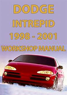vehicle repair manual 1995 dodge intrepid engine control dodge intrepid 1998 2001 workshop manual workshop manual dodge