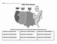 worksheets time zone activities 3275 time zone worksheet usa middle school social studies social studies time zones middle school