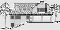 sloping lot house plans hillside hillside home plans with basement sloping lot house plans
