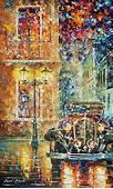 Leonid Afremov Artwork Collection CityScapes