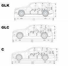 Seite Abmessungen Vergleich Glk Glc C Mercedes Glc