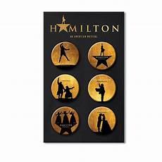 Pop Chart Lab Broadway Costumes Hamilton Button Set Hamilton Broadway Hamilton