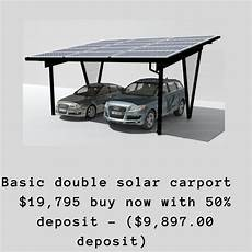 solar carport bausatz solar carport kit 5 85kw for sale in australia