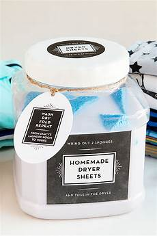 diy reusable dryer sheets party inspiration