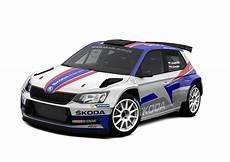 three škoda motorsport crews at rally monte carlo jan