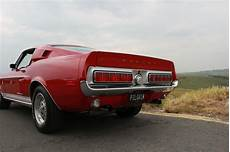 1968 classic ford mustang shelby gt 500 fastback muscle car