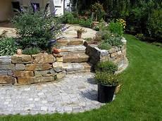 Gartentr 228 Ume Mediterrane Gestaltung Mit Gneis Trockenmauern