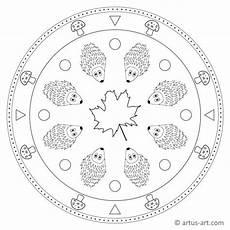 Malvorlagen Mandala Herbst Igel Mandala 187 Gratis Ausdrucken Ausmalen 187 Artus