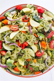 20 minute rainbow veggie pasta salad a vegetarian pasta