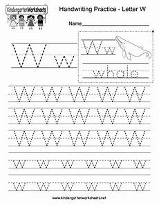 handwriting name worksheets for kindergarten 21509 letter w writing practice worksheet free kindergarten worksheet for