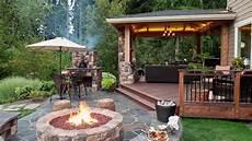Outdoor Bilder Garten - 10 stunning backyard patio design ideas
