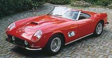 250 gt california absolute motoring 1959 250 gt supercar auto