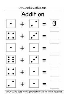 single digit addition three worksheets worksheets kindergarten math worksheets