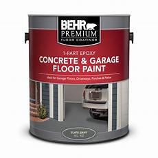 1 part epoxy concrete garage floor paint behr premium 174 behr