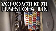 2006 volvo xc70 fuse box volvo v70 xc70 fuses and relays location