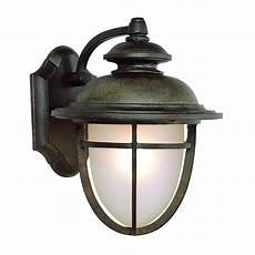 transglobe lighting outdoor 1 light wall lantern in dark rust l brilliant source lighting