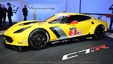 the new c7r chevrolet corvette race car looks poised to