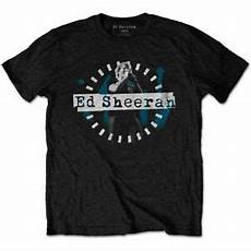 official ed sheeran dashed stage photo t shirt ebay