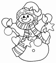 snowman coloring pages pictures