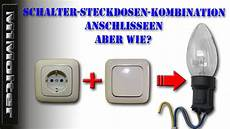 Steckdose Und Schalter Anschließen - steckdosen schalter kombination anschlie 223 en m1molter