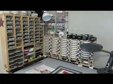 youtube tour of frencie craft room stin up demonstrator