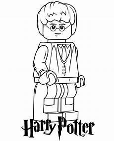harry potter lego minifigure topcoloringpages net