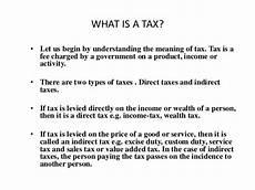 ppt 1 taxation