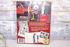 old cars and repair manuals free 1987 subaru brat seat position control chevrolet gmc pickups repair manual vintage haynes 1967 1987 repair tune up guide book