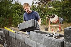 Construire Un Mur De Jardin Hornbach