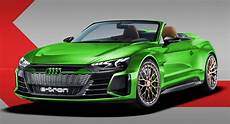 audi s e gt concept gets rendered as a spyder a