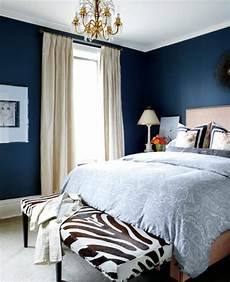 Bedroom Decor Ideas With Blue Walls by 18 Vibrant Navy Blue Bedroom Design Ideas Rilane