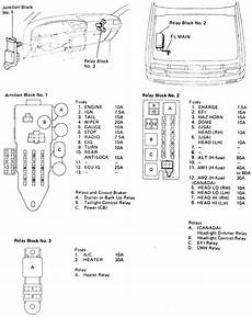 1993 Toyotum Camry Engine Fuse Box Diagram by Repair Guides
