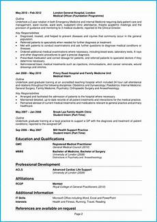 doctor cv exle writing guide guarantee your cv is noticed
