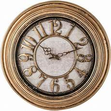 brookwood 20 antique gold wall clock walmart