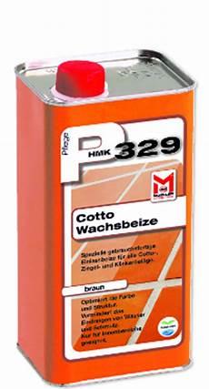 Cotto Fliesen Pflege Mit Hmk P329 Cotto Wachsbeize Braun