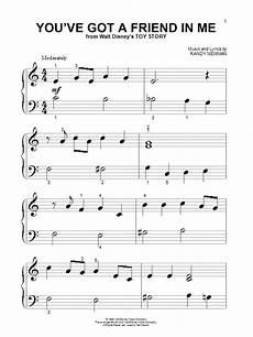 you ve got a friend in me sheet music by randy newman piano big notes 21221