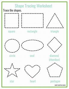 shapes worksheets for preschool free printables mary martha
