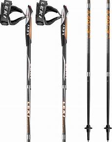 leki micro magic folding nordic walking poles 125cm black