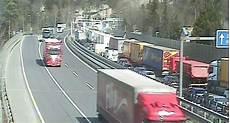Unfall Auf A96 Sorgt F 252 R Massiven Stau In Vorarlberg
