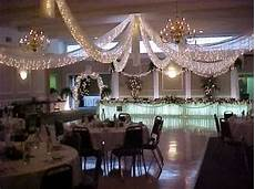 how to hang tulle for the reception cieling with xmas lights the knot community